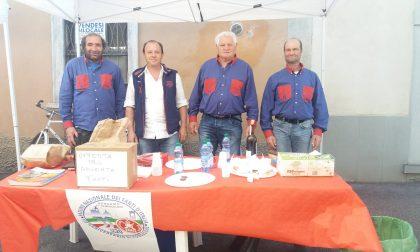 Fanti in festa raccolgono fondi per il raduno nazionale a Bergamo