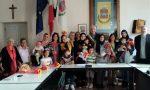 Nove donne straniere diplomate in italiano