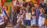Contadini canterini di Pognano premiati dalla Provincia