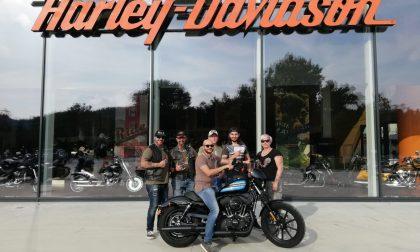 Consegnata la Harley messa in palio dai bikers