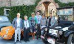 Quattro ruote d'epoca alla sagra di Cassano FOTO