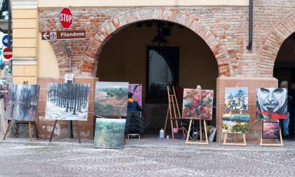Il Premio Arte colora il centro storico di Martinengo FOTO