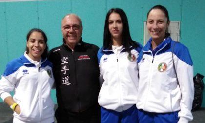 Le giovani del karate di Bariano in Brasile per i mondiali