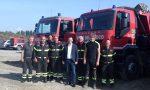 Esercitazione del Gos a Treviglio, in azione i Vigili del fuoco