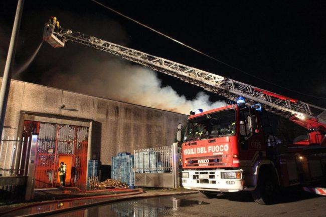 incendio azienda