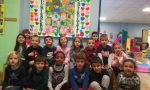 I bambini del Luogo Pio realizzano l'albero dei diritti FOTO
