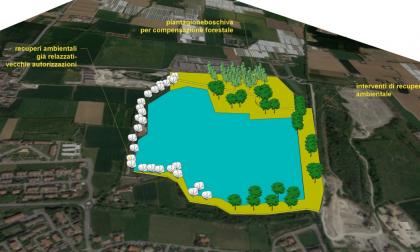 Le cave di Palosco diventeranno un enorme lago