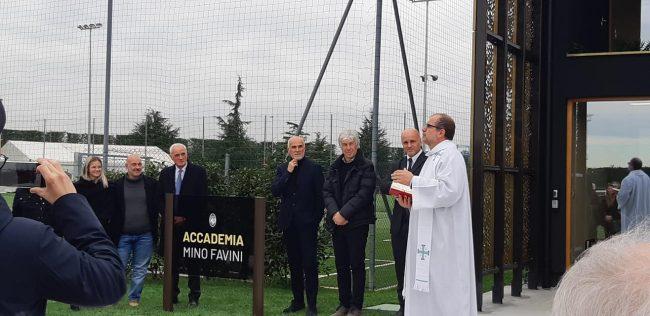 Intitolata a Mino Favini la nuova palazzina del settore giovanile dell