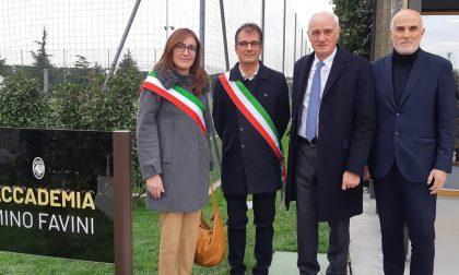 Intitolata a Mino Favini la palazzina del settore giovanile dell'Atalanta FOTO
