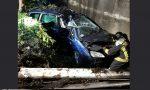 """Pauroso incidente a Fara, 44enne """"miracolato"""" FOTO"""