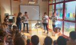 Alla scuola materna di Nosadello volontarie Abio in visita