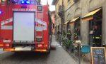 Incendio in via Galliari, Vigili del fuoco all'Agave FOTO