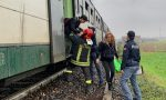 Paura sul treno a Treviglio, fumo nero dall'ultima carrozza