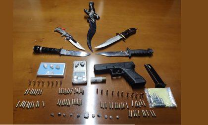 Treviglio, armi e droga nello zaino e casa di uno studente minorenne