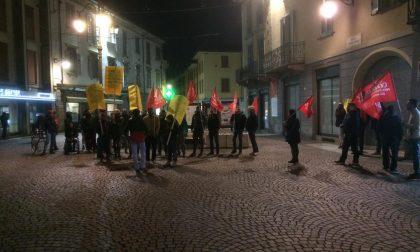 Eurogravure, in trenta alla manifestazione dei Cobas