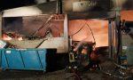 Incendio a Fornovo, a fuoco il fustellificio FOTO