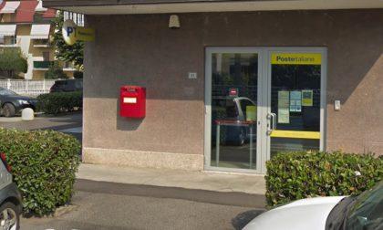 Rapina in posta, rubati 400 euro