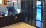 Rapina in banca a Bergamo, ecco il VIDEO
