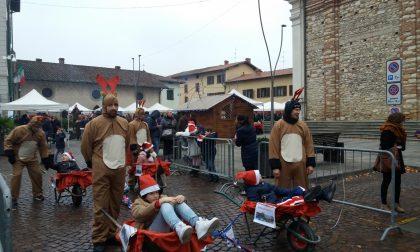 Natale in piazza con le associazioni e le renne orobiche FOTO VIDEO