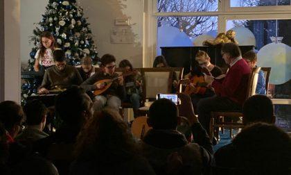 I ragazzi delle medie di Pontirolo e Canonica in concerto all'Aga FOTO