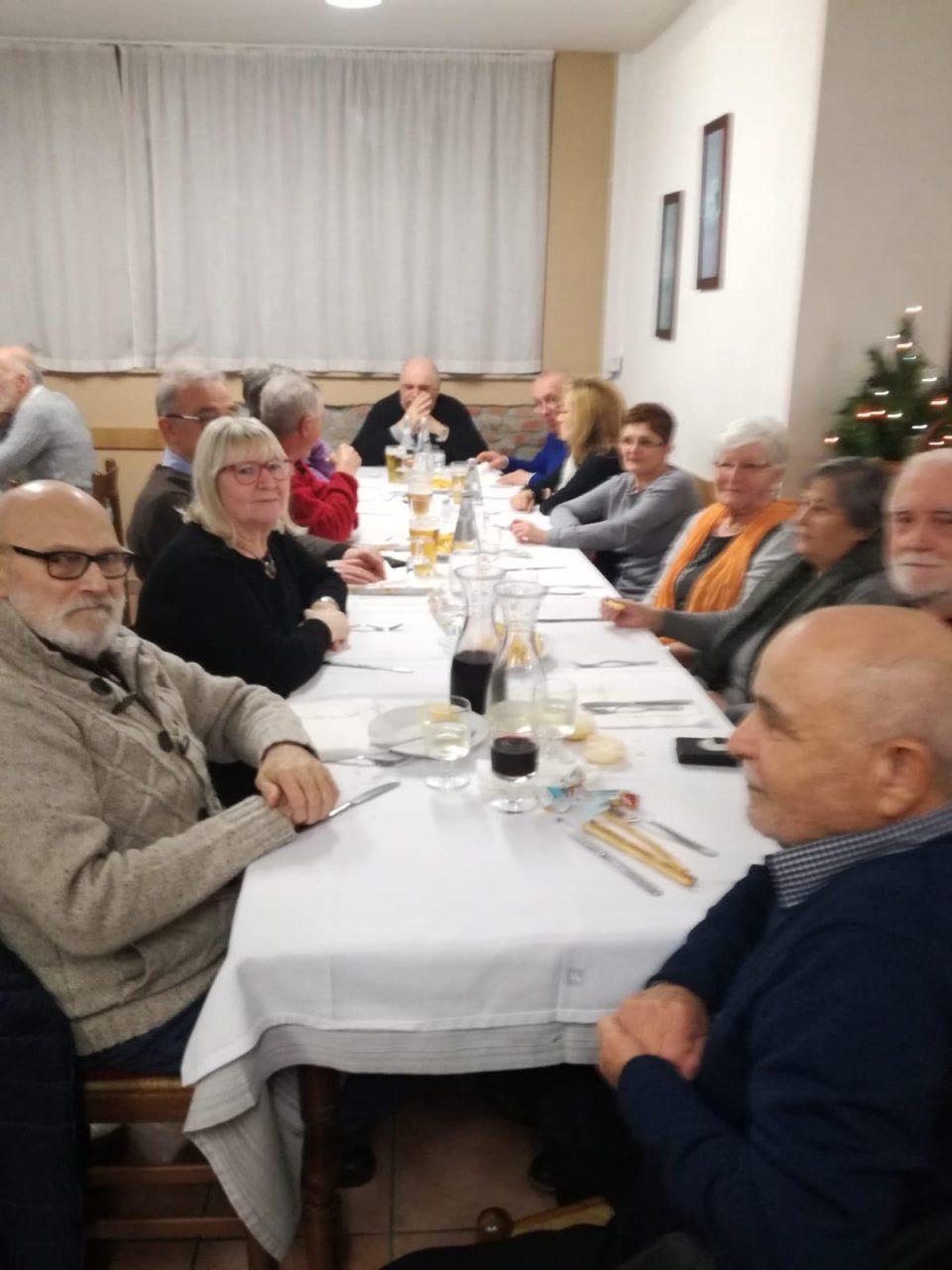 cena coi volontari
