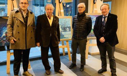 I (primi) cinquant'anni d'arte di Francesco Tresoldi in una mostra della Bcc