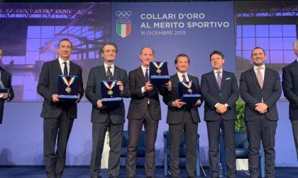 Olimpiadi invernali 2026: Collare d'oro del Coni a Fontana e Sala