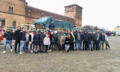 Festa del Ringraziamento a Pandino, sfilata di trattori al castello