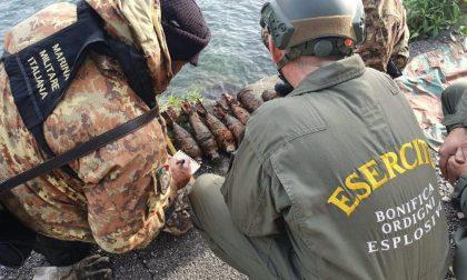 Il Genio Guastatori Cremona in azione sul lago d'Iseo: rimossi 300 ordigni bellici FOTO