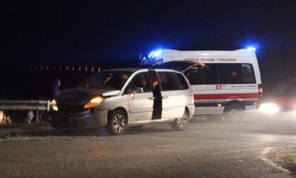 Maxi incidente a Vidalengo, coinvolte sette persone FOTO