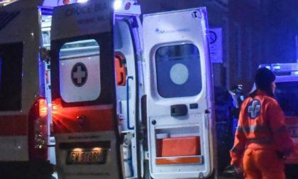 Ribaltamento a Casirate, 54enne in ospedale