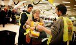 Colletta alimentare, il cuore grande dei bergamaschi: donati 200 chili di cibo