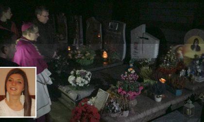 L'arcivescovo di Milano prega sulla tomba di Angelica Tiraboschi