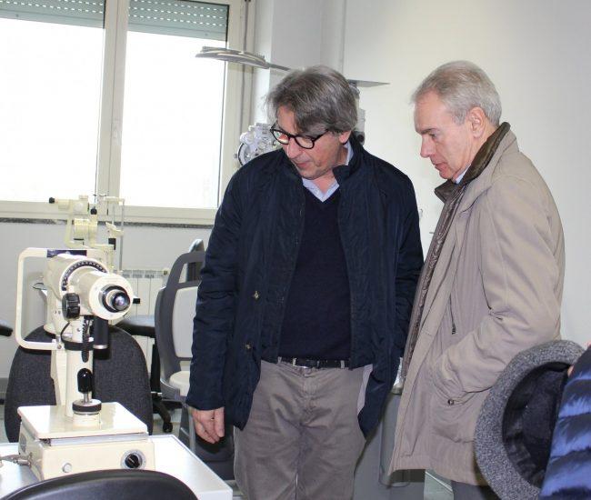 Sraffa Crema laboratorio di ottica