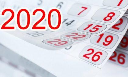 Calendario 2020: la data palindroma, gli equinozi, le feste e i ponti
