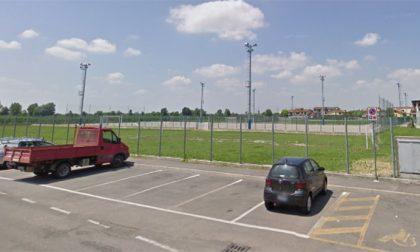 Centro sportivo, campo 2 a servizio dell'elisoccorso