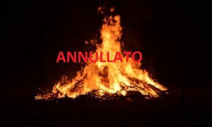 Annullati i falò di Sant'Antonio a Cassano e Cascine San Pietro