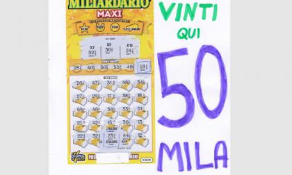Al Bar Tino di Spino vinti 50mila euro al Gratta & Vinci