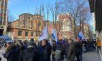 Anche Carretta a Milano per la protesta contro Trenord FOTO