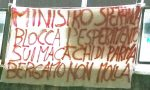 Macachi liberi torna a protestare: anche a Bergamo uno striscione contro la ricerca