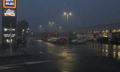 Treviglio, il parcheggio dell'Aldi sarà a disco orario