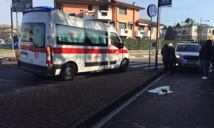 Treviglio: cade per terra, ferito 84enne