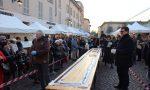 Treviglio al cioccolato al via con la mega tavoletta da 15 metri FOTO VIDEO
