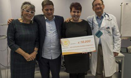 """""""Insieme con il sole dentro"""" dona 18mila euro per la ricerca sul melanoma al Papa Giovanni"""