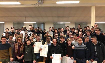 All'Archimede consegnati i diplomi ai maturati del 2019 FOTO