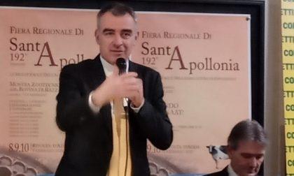 Andrea Giuliacci a Rivolta per la fiera di Sant'Apollonia lancia l'allarme sul clima