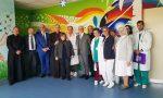 Il cardinal Menichelli in visita all'ospedale di Treviglio
