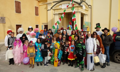 Carnevale green a Torlino Vimercati FOTO