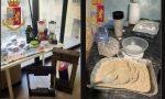 Narcotraffico: smantellata una raffineria di droga nella Bassa, tre arresti FOTO