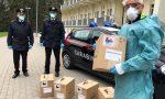 Non solo controlli e denunce, i carabinieri consegnano i ventilatori a Piario VIDEO